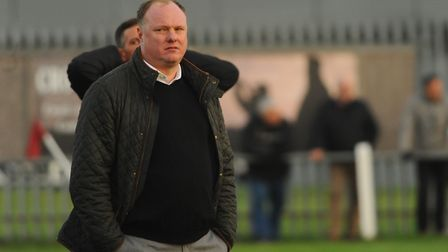Wisbech manager Gary Setchell. Picture: DENISE BRADLEY