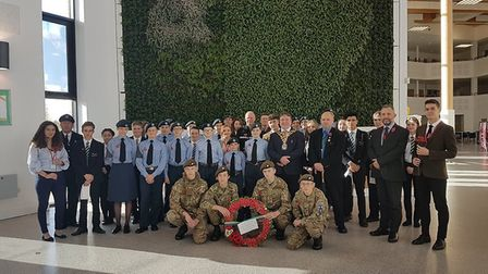 Thomas Clarkson Academy in Wisbech holds a Remembrance Service