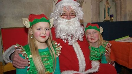 Deliver your letter to Father Christmas at Leverington Church Christmas market