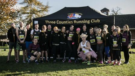 Hundreds of runners took part in Three Counties Running Club's first George Munday 10k last Sunday.