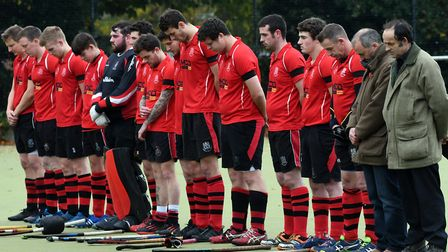 Wisbech paid their respects to former chairman Graham Ward before their game with Waltham Forest on