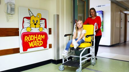 Wheely Big Appeal at the Queen Elizabeth Hospital in King's Lynn to buy wheel chairs