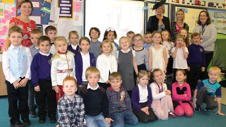 Hundreds of children and staff at Nene and Ramnoth Junior School in Wisbech enjoyed a right royal da