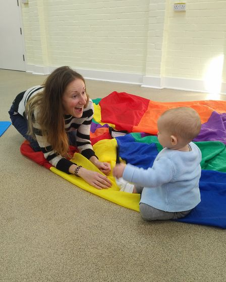 Baby College aims to enhance your child's development. Photo: Heather Birt