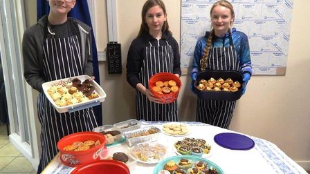 Marshland High School pupils raise their best total ever for Children In Need charity. Lewis Quinney