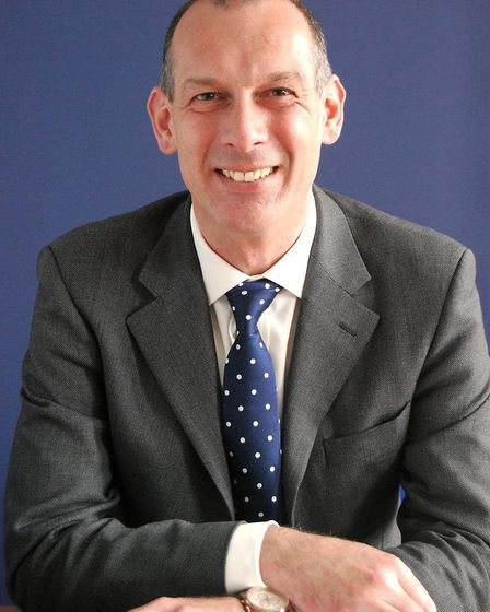 Michael Harpham, headteacher at Onslow St Audrey's School. Picture: Supplied by Onslow St Audrey's S