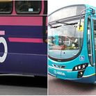 Uno and Arriva's Christmas bus timetables. Pictures: Supplied.