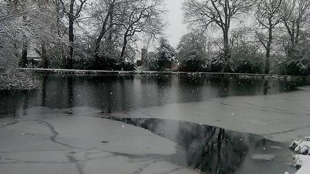 Oakmere Park in Potters Bar.