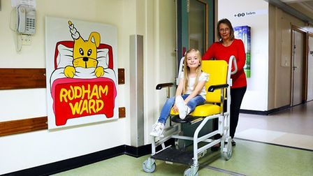 Queen Elizabeth Hospital in King's Lynn off to 'wheely' good start thanks to £5,000 donation