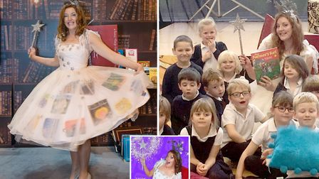 Pupils left shocked after suprise visit from children's YouTube star 'The Phonic Fairy'.