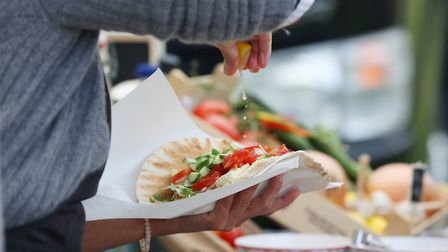 Garlic and Olive at the Welwyn Garden Street Food event. Picture: Danny Loo