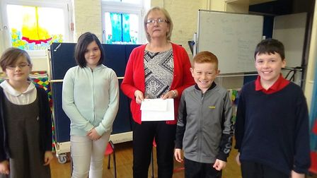 Sister schools, Tilney All Saints Primary and Anthony Curton Primary have raised over £800 for the A