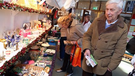 Bric a brac stall. Picture: Kevin Lines