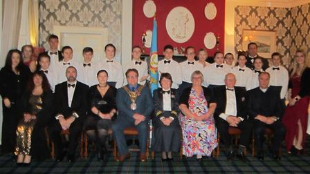 The 272 (Wisbech) Squadron Air Training Corps held their annual dining in night last month.