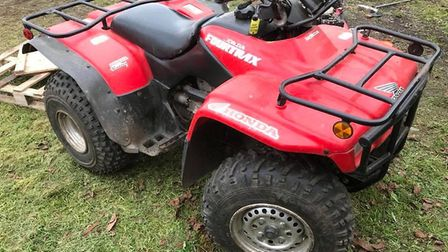 The family of Sidney Smith are raffling a quad bike to help pay for his funeral. Sidney lived at Bar