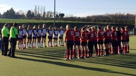 Wisbech and Harleston held a minute's silence in memory of Paul Strickle.