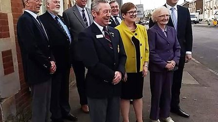 The director of the Eastern and South Eastern Royal Air Forces Association (RAFA) Ailsa Gough and NE
