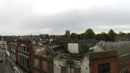 The Gap in Wisbech - Panoramic views south-east and south-west