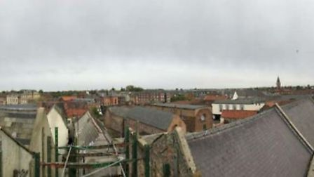 The Gap in Wisbech - Panoramic views north-west and north-east