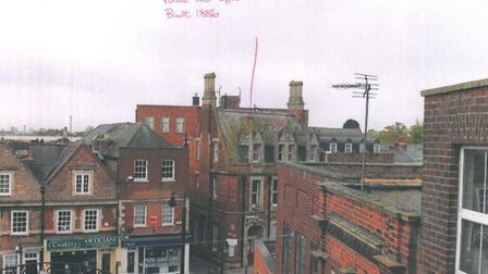 The Gap in Wisbech - Landmark study looking south-west
