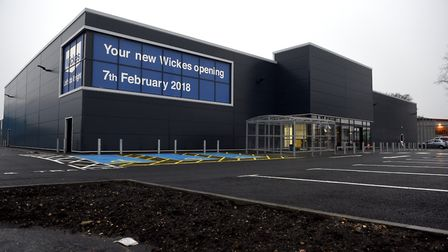A new Wickes store will open in Wisbech on February 7 2018. Photo: Ian Carter