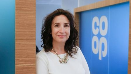 Jo Whitfield, chief executive of Co-op Food. Picture: Howard Barlow