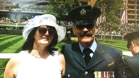 Corporal Andy Reeve and Rose Wells tie the knot on the same day as Prince Harry and Megham Markle at