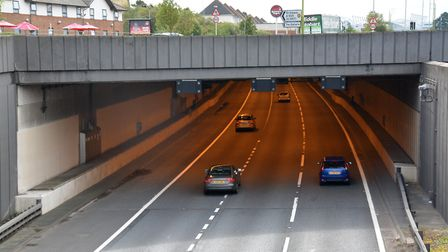 A1(M) Hatfield tunnel. Picture: Kevin Lines