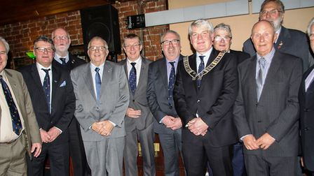 The new Wisbech Business & Professional Men's Club committee.