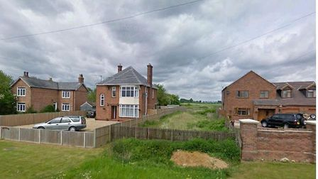 80 new homes proposed for land off High Road, Wisbech St Mary , Cambs. Access is as shown