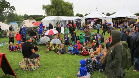 Children's area at Standon Calling Festival 29th July 2017. Photo by Kevin Richards
