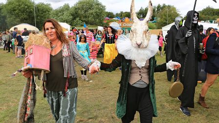 Themed Parade at Standon Calling Festival 29th July 2017. Photo by Kevin Richards