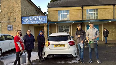 Prince's Trust Wisbech hold a charity car wash and bake sale