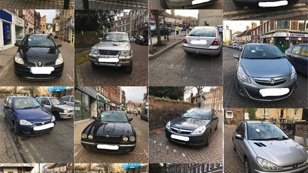 Seventeen illegally parked cars were ticketed in Wisbech during one afternoon on February 17.