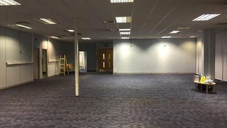 After the clean up of Hatfield community hub in Beaconsfield Court. Picture: Supplied.