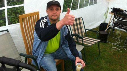 Riki Boughen was the passenger in a Ford Transit van which collided with a coach on the A47. Picture