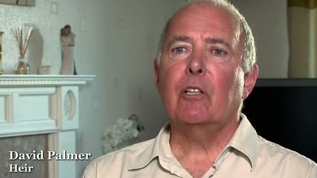 David Palmer was found to be one of Leslie's heirs. Picture: BBC Two screenshot