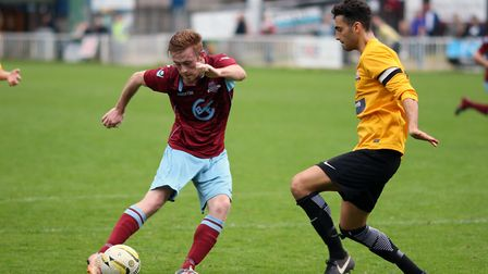 George Ironton was the hero Welwyn Garden City needed against Oxhey Jets. Picture: KEVIN LINES