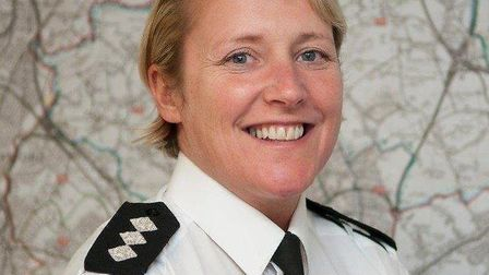 Welwyn Hatfield's new Chief Inspector, Tannis Perks. Picture: Herts Police.