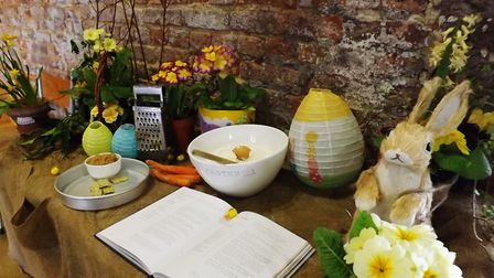 Easter activities at Peckover House in Wisbech