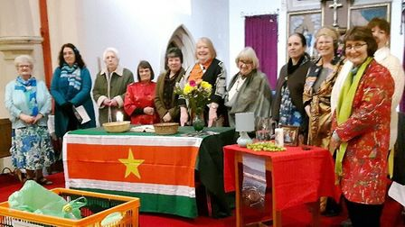 International. Womens' world day of prayer celebrated in Wisbech