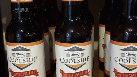 Elgoods hs won a silver award for its Coolship mango beer