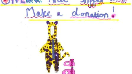 The pupils advertised the initiative with their own poster designs. Picture: supplied by St Michael'