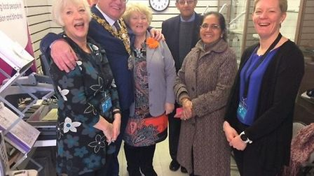 Camsight opens a new centre in Wisbech which is officially opened by Mayor Councillor Steve Tierney.