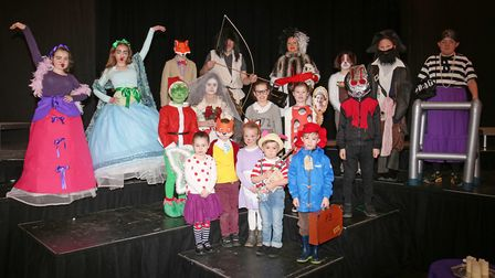 Welwyn St Mary's Primary School best dressed pupils as characters from their favourite books to cele