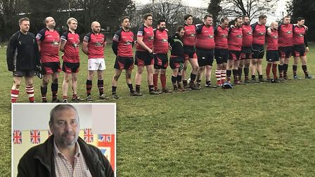 Wisbech Wildcats pay tribute to former captain, Paul Wuttke, who has died aged 58. Photo: Wisbech Ru