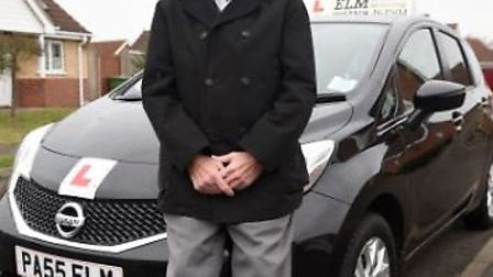 Brian Granger, who runs Elm School of Motoring, has been a driving instructor for the last 55 years.
