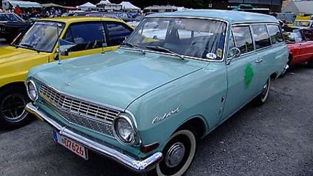 Cars that came to life in 1963 - Opel Rekord Seria A. Photo: Wiki