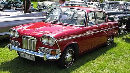 Cars that came to life in 1963 - Humber Sceptre. Photo: Wiki