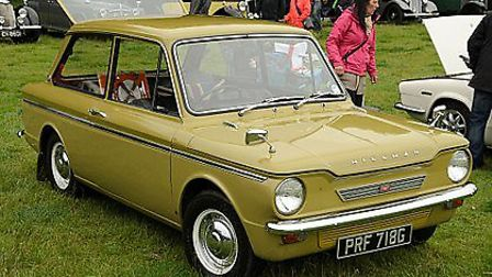 Cars that came to life in 1963 - Hillman Imp. Photo: Wiki